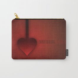 SMOOTH MINIMALISM - Sympathy For The Devil Carry-All Pouch