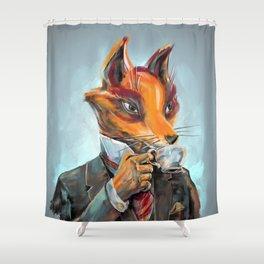 Williams Fox esq Shower Curtain