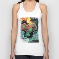 avatar Tank Tops featuring Avatar by Andrea Montano