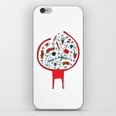 holding it all together iPhone & iPod Skin