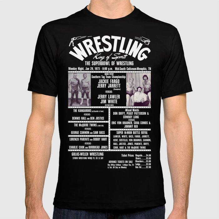 #8-B Memphis Wrestling Window Card T-shirt