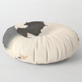 Moonlight Flying Bat Floor Pillow