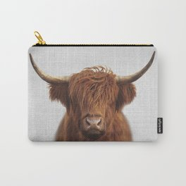 Highland Cow - Colorful Carry-All Pouch