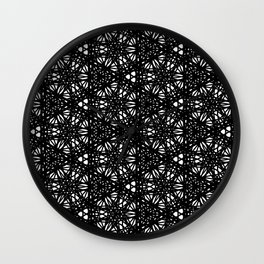 Imperfection pattern Wall Clock