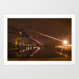 Braga Bridge Art Print