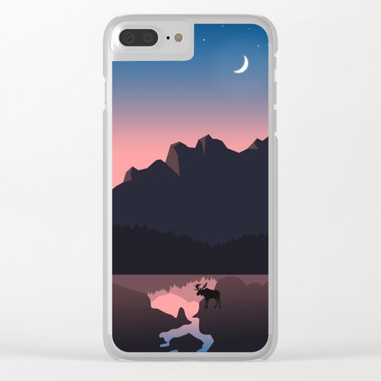 Rocky Mountain Marvelous Clear iPhone Case