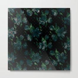 Art splash brush strokes paint abstract print Metal Print