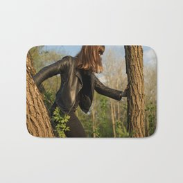 Forest Ninja Bath Mat