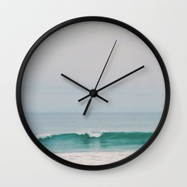 beach. Wave Wall Clock