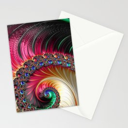 Electric Shell Stationery Cards