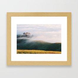 Slow Mist - 35mm Film Framed Art Print