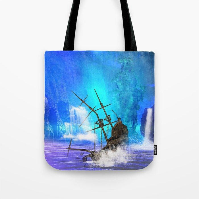 Shipwreck  Tote Bag