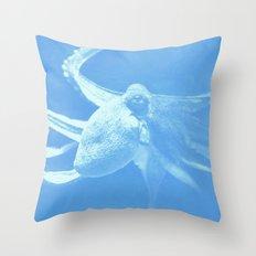 Octopus Dance Throw Pillow
