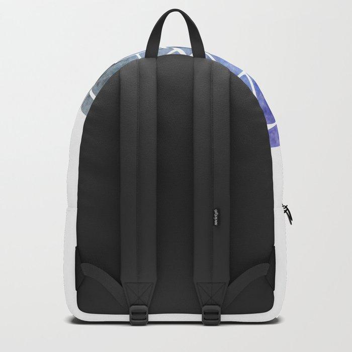 Glaucous Mandala Backpack