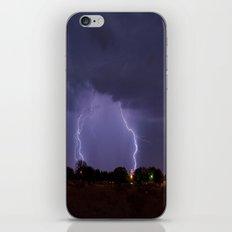 Lovington Lightning iPhone & iPod Skin