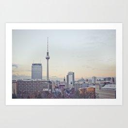 Winter in Berlin Art Print