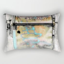 One Door at Plaka-Athens Rectangular Pillow