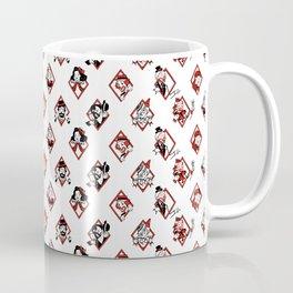 Sawdust Deck: The 10 of Diamonds Coffee Mug