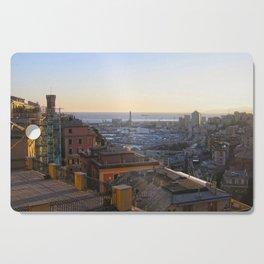 Tramonto a Genova 2 Cutting Board