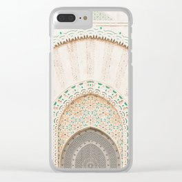 Morocco I Clear iPhone Case