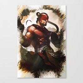League of Legends LEE SIN Canvas Print