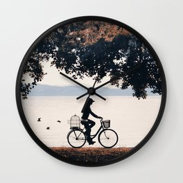 Into the Nature II Wall Clock