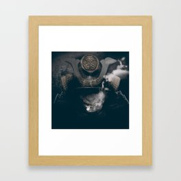 Broken Sword Framed Art Print