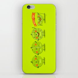 Lime emotions  iPhone Skin