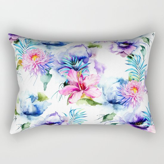 Summer Garden Rectangular Pillow