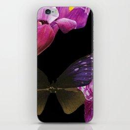 Purple Wings  iPhone Skin
