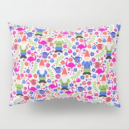 Gnome Garden Pillow Sham