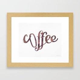 Coffee Coffee Framed Art Print