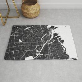 Copenhagen City Map Rug