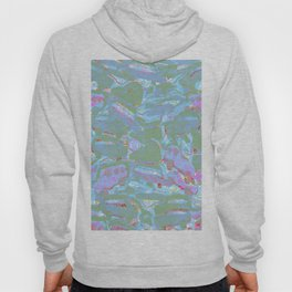 Turquoise and Lavender Hoody