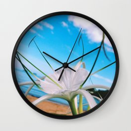 Crop Up For Air Wall Clock