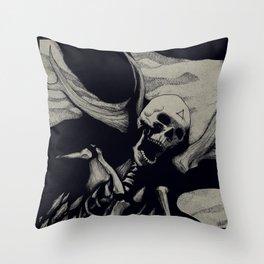 Vebaek hunter Throw Pillow