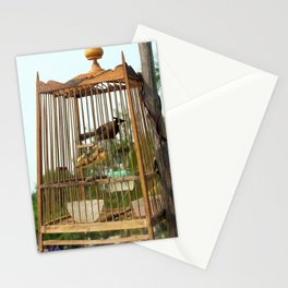 caged in Stationery Cards