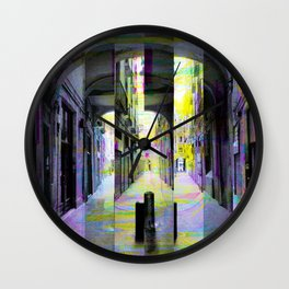 Tuesday 28 May 2013: After a runin regarding that public private limit. Wall Clock