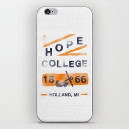 Hope College iPhone Skin