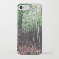 uncharted iPhone & iPod Cases featuring Uncharted Woods  by Oscar Goodwin