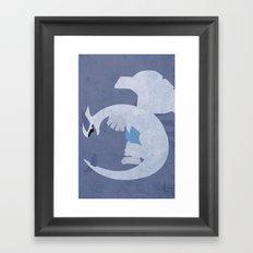 Lugia Framed Art Print
