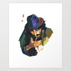 Rubik #3 Art Print