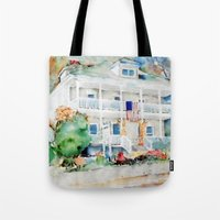 american beauty Tote Bags featuring American Beauty by Bowles Fine Paintings