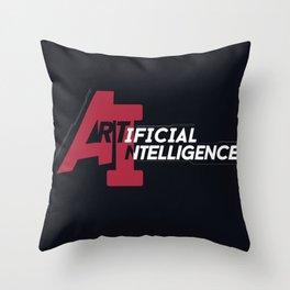 AI - Artificial Intelligence Throw Pillow