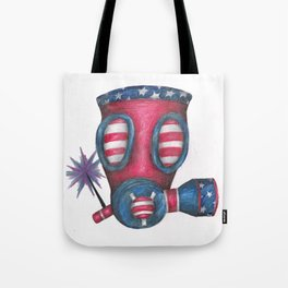 Nuclear 4th of July Tote Bag