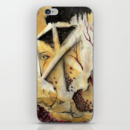 Lost in Cube Dimensions iPhone Skin