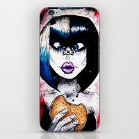 burger iPhone & iPod Skins featuring Burger by Tufty Cookie