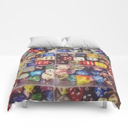 Colorful Dice Comforters