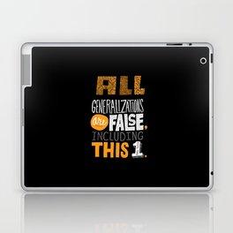 All Generalizations Laptop & iPad Skin