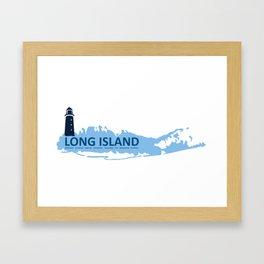 Long Island - New York. Framed Art Print
